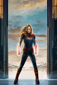 Captain Marvel Movie 2019 Offical Poster