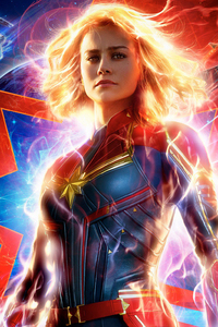 Captain Marvel Movie Poster 2019