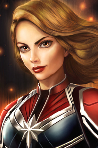 Captain Marvel New Art