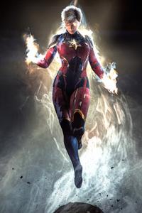 Captain Marvel New Art4k