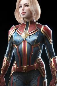 Captain Marvel New Arts