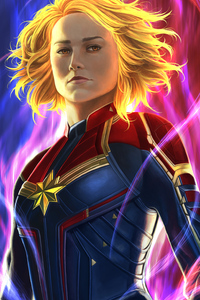 Captain Marvel New Artss