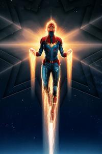 Captain Marvel New Poster 2019