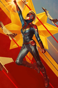 Captain Marvel New Poster