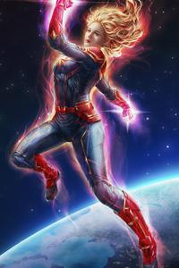 Captain Marvel Newart