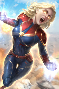 Captain Marvel Newarts