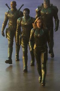 Captain Marvel Starforce Team 5k