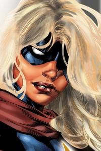 720x1280 Captain Mavel Comic Artwork 4k