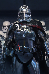 1440x2960 Captain Phasma 2020