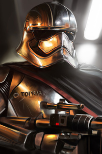 480x854 Captain Phasma Art4k 2020
