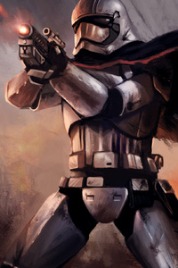 240x320 Captain Phasma