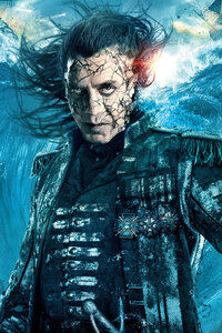 Captain Salaza In Pirates Of The Caribbean Dead Men Tell No Tales Movie