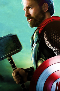 240x320 Captain Thor