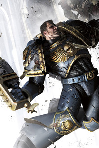 Captain Titus Warhammer 40000 Space Marine 4k