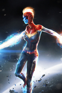 Captainmarvel Art