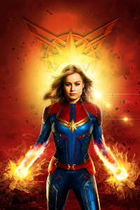CaptainMarvel Poster