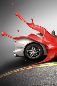 Car Paint Transformation Design 4k
