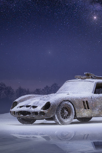 320x480 Car Snow 4k