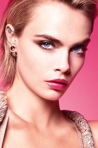 240x320 Cara Delevingne Dior Addict Spring 2019 Ad Campaign