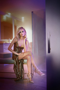Cara Delevingne Jimmy Choo Photoshoot