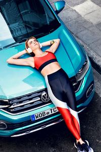 Cara Delevingne VW T Cross 2019 New