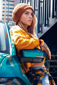 Cara Delevingne VW T Cross New