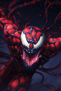 1280x2120 Carnage Marvel Contest Of Champions