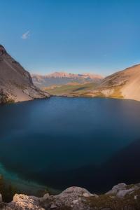 Carnavron Lake In Kananaskis Alberta 4k