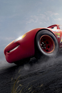 Cars 3 Red Lightning McQueen 8k
