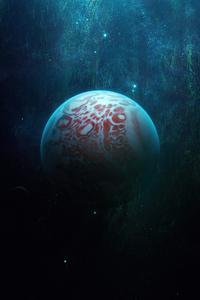 1440x2560 Cascading Planet 5k