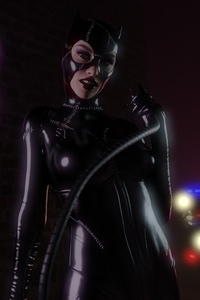 Cat Woman Art