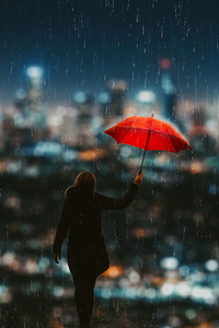 240x320 Catch The Rain 4k