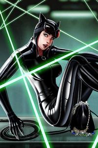 240x400 Catwoman 2020 Artwork 4k