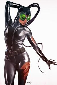 Catwoman 4k Art