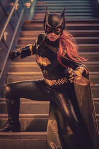 240x400 Catwoman Cosplay 5k