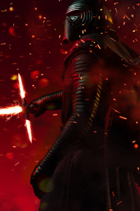 CGI Kylo Ren New