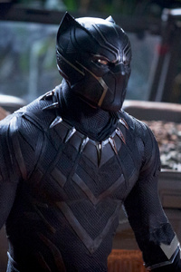 Chadwick Boseman Black Panther 2018