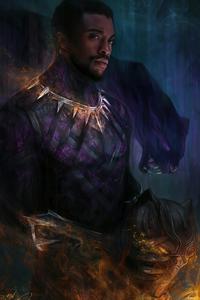 Chadwick Boseman Black Panther 2020