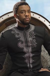 Chadwick Boseman Black Panther 5k 2018