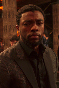 Chadwick Boseman In Black Panther Movie