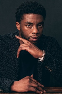 Chadwick Boseman In The Guardian Magazine