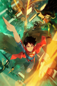 720x1280 Challenge Of Super Sons 4k