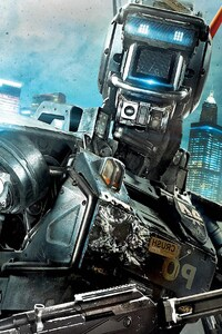 320x568 Chappie Movie HD