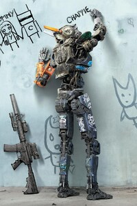 320x568 Chappie Movie