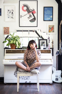 Charli XCX Architectural Digest 2019