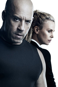 320x480 Charlize Theron Vin Diesel The Fate of the Furious