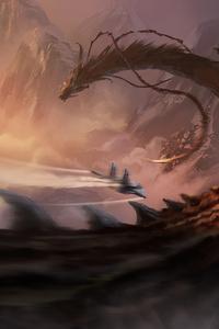 1440x2960 Chasing Dragon