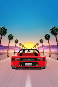 Chasing The Sun Ferrari 5k