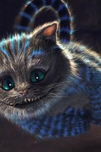 320x480 Cheshire Cat