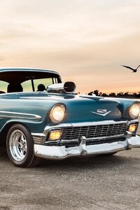 480x854 Chevrolet Bel Air Sport Coupe